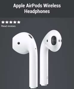 Apple AirPods Wireless Headphones £159 CPW - not a deal... but was looking for some airpods and they seem to be out of stock everywhere