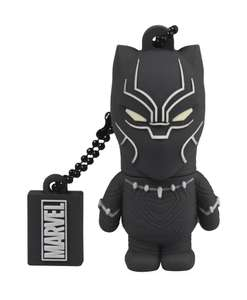 Marvel Black Panther 16GB flash drive by Tribe @ ASOS £7.50 (£3 delivery under £25 or free with Premier)