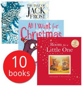 Cosy Christmas Collection- 10 Books With Bag now £10 Delivered with code @ The Book People