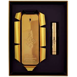 Paco Rabanne 1 Million Collector EDT Spray 100ml & EDT Spray 10ml + Possible £5 Amazon SEE OP @ AllBeauty Delivered £45.18