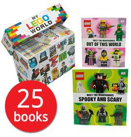 Code Stack : My Lego World : 25 book collection £22.49 ( less than a £1 a book) with code & free del @ bookpeople