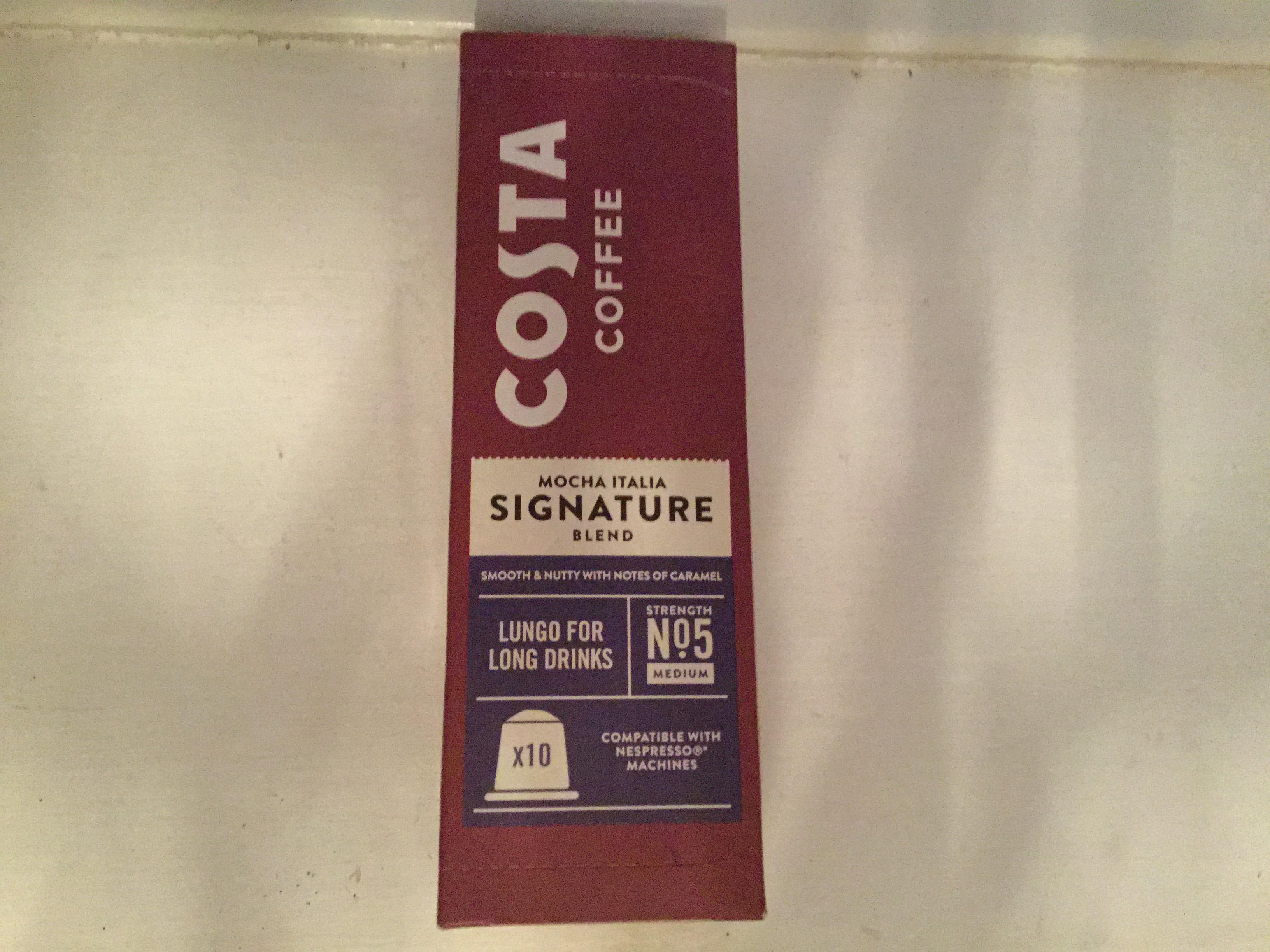 Costa Coffee nespresso pods £3
