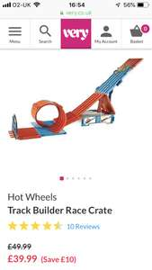 Hot Wheels Race Crate at Very for £39.99
