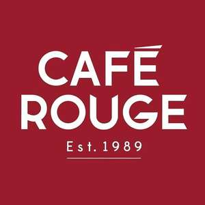 Second Main Course for £1 at Cafe Rouge
