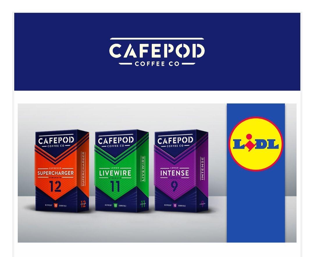 CAFEPOD Nespresso capsules at LIDL instore - £1.99