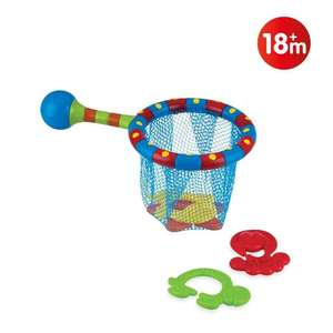 Nuby Splash N' Catch Fishing Set Bath Toy £5.75 Prime / £10.24 Non Prime @ Amazon
