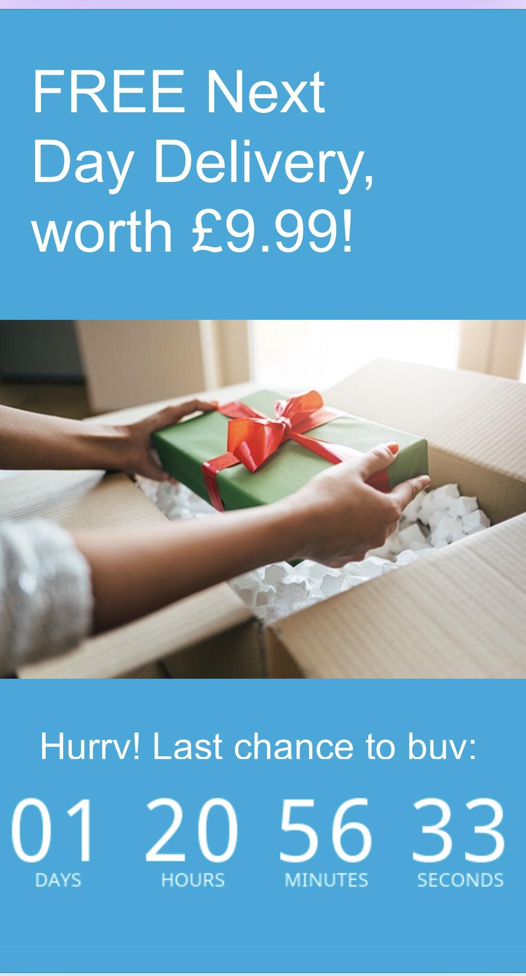 BT Shop Free Next Day Delivery (worth £9.99) - No Minimum Spend
