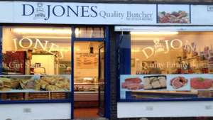 (Dewsbury) Anyone on Universal Credit - Free Turkey Crown + Pigs in Blankets and a Pork Pie @ D Jones Butchers, West Yorkshire