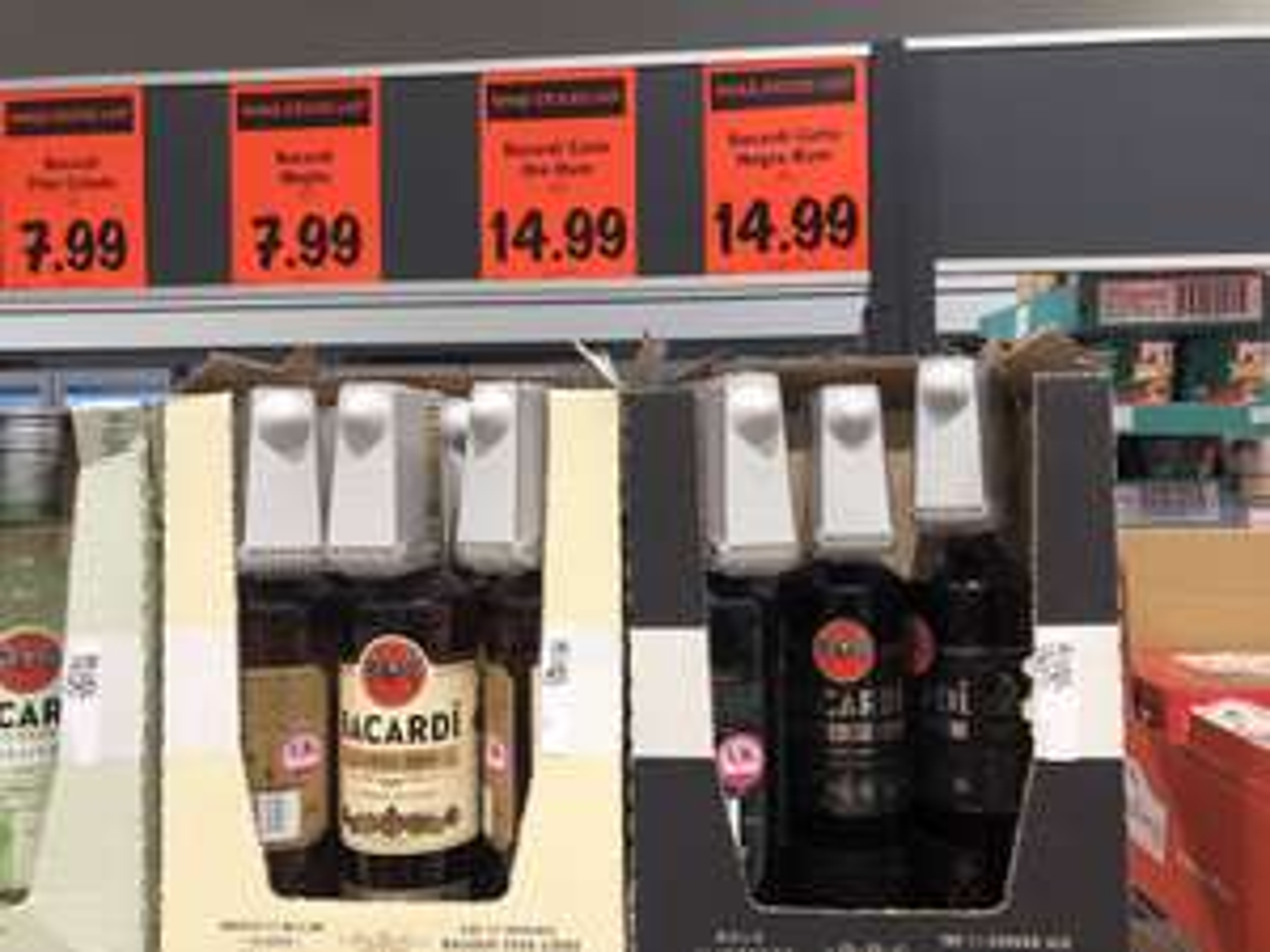 Bacardi Carta Oro / Negra 70cl Rum - £14.99 - Instore LIDL