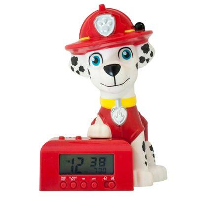 Paw Patrol-BulbBotz - 'Marshall' night light alarm clock £10 @ Amazon