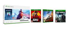 Amazon £239.99 Xbox One S 1TB Battlefield V console + Red Dead Redemption + Forza Horizon 4  + Just Cause 4 + Fast & Furious 8 Blu-Ray
