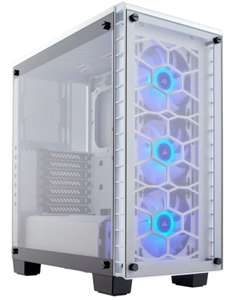 Corsair Crystal Series 460X RGB Compact ATX Mid-Tower £109.98 + Free Delivery - Ebuyer