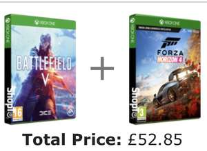 Battlefield 5 + Forza Horizon 4 £52.85 (Xbox one) @ShopTo [works out £26.43 each when you buy the 2 games]