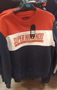 (Nintendo Licenced) Super Nintendo Sweater, Various Sizes, In Store £12 @ Primark