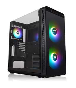 Thermaltake View 37 ARGB Edition Mid-Tower PC Case Chassis Black £123.44 + Free Delivery - Amazon Ebuyer
