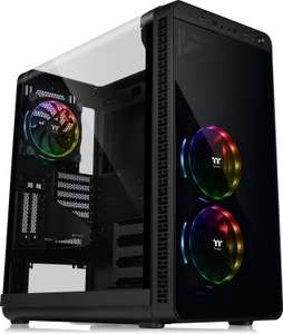 Thermaltake View 37 RGB Mid Tower PC Case Black £130.29 + Free Delivery - Amazon