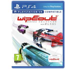 Wipeout Omega Collection PS4 Game (PS VR Compatible) for £13.99 @ Argos