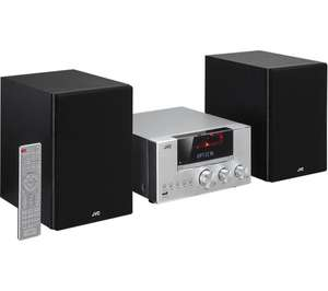 JVC UX-D427S Wireless Hi-Fi System - Silver - £127.97 at Currys
