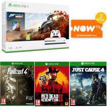 Forza Horizon 4 Bundle Fallout 4 Red Dead Redemption 2 Just Cause 4 NOW TV 2 Months Entertainment Pass £229.99 GAME