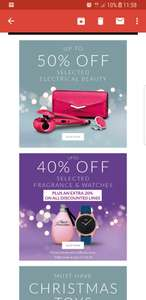 Up to 50% off selected gifting at Littlewoods