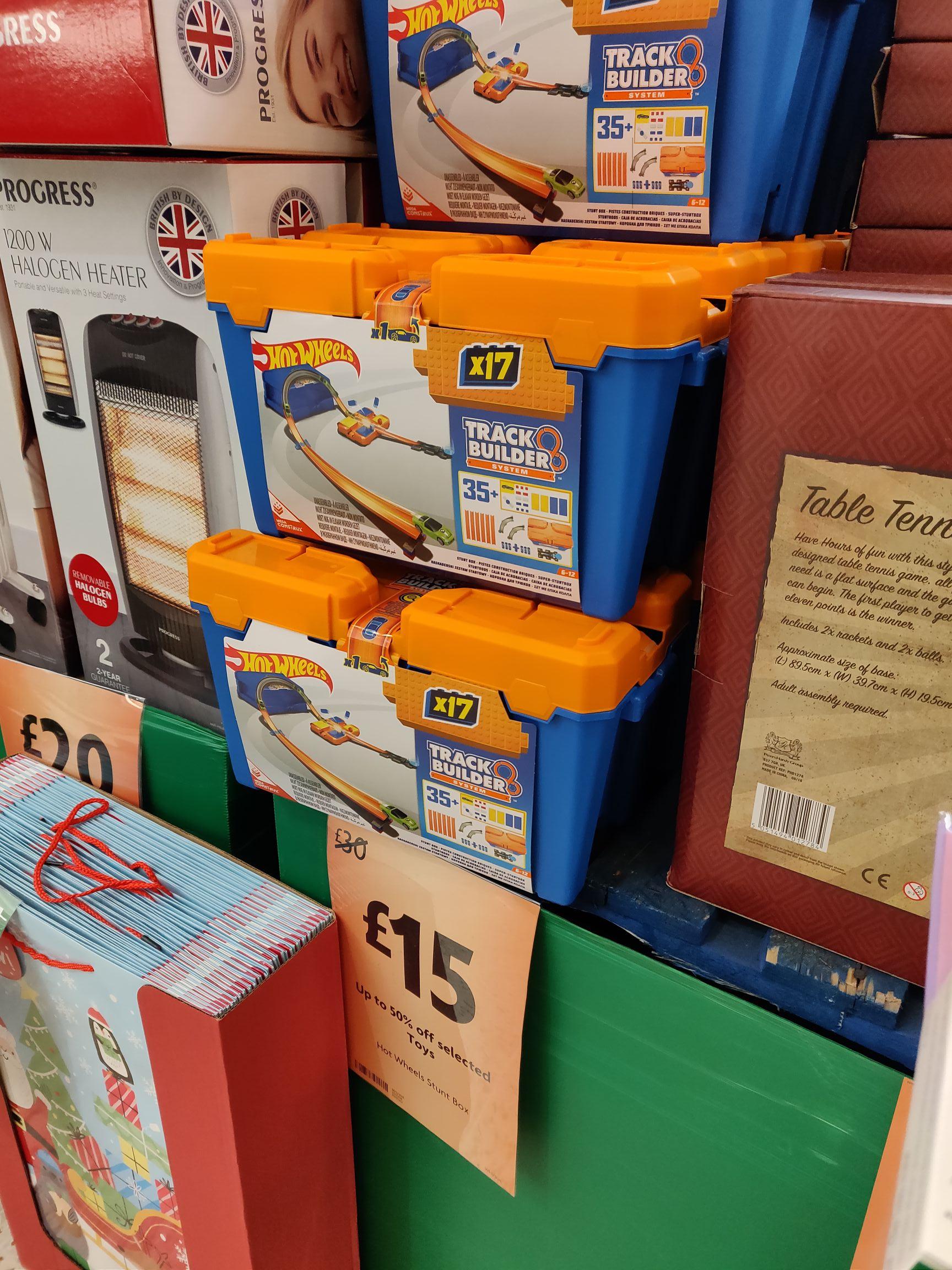 Hot Wheels Track Builder System Stunt Box £7.50 Morrisons instore
