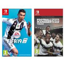Fifa 19 with football manager 2019 for switch £49.99 GAME