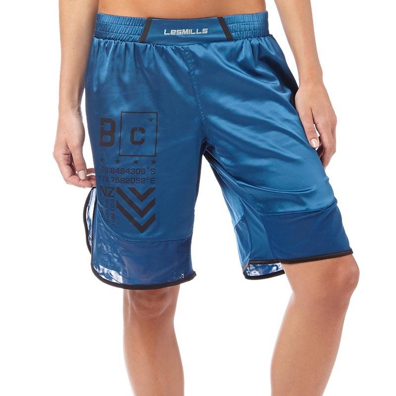 Reebok Womens Les Mills Bodycombat Shorts Blue - £1.99 @ MandM Direct (£4.99 delivery)