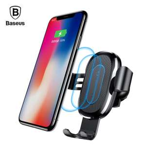 Multi-function Baseus 10W Combination Qi Car Wireless Charger £9.95 Delivered @ Joybuy