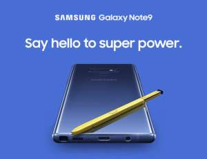 Samsung Galaxy Note9 128GB Hybrid Sim @Samsung For Students, NHS workers... - £699 +£150 Cashback = £549