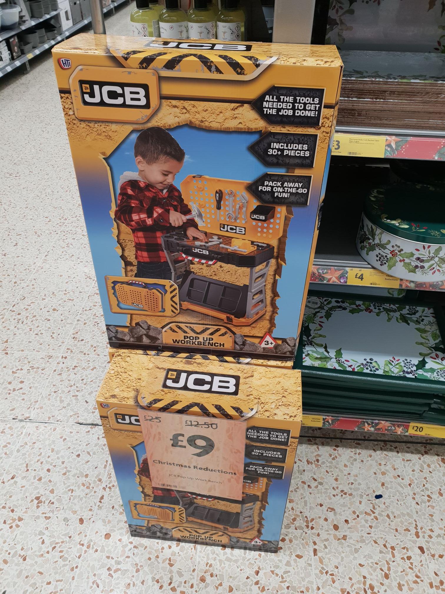JCB Pop Up Workbench £9 Morrisons