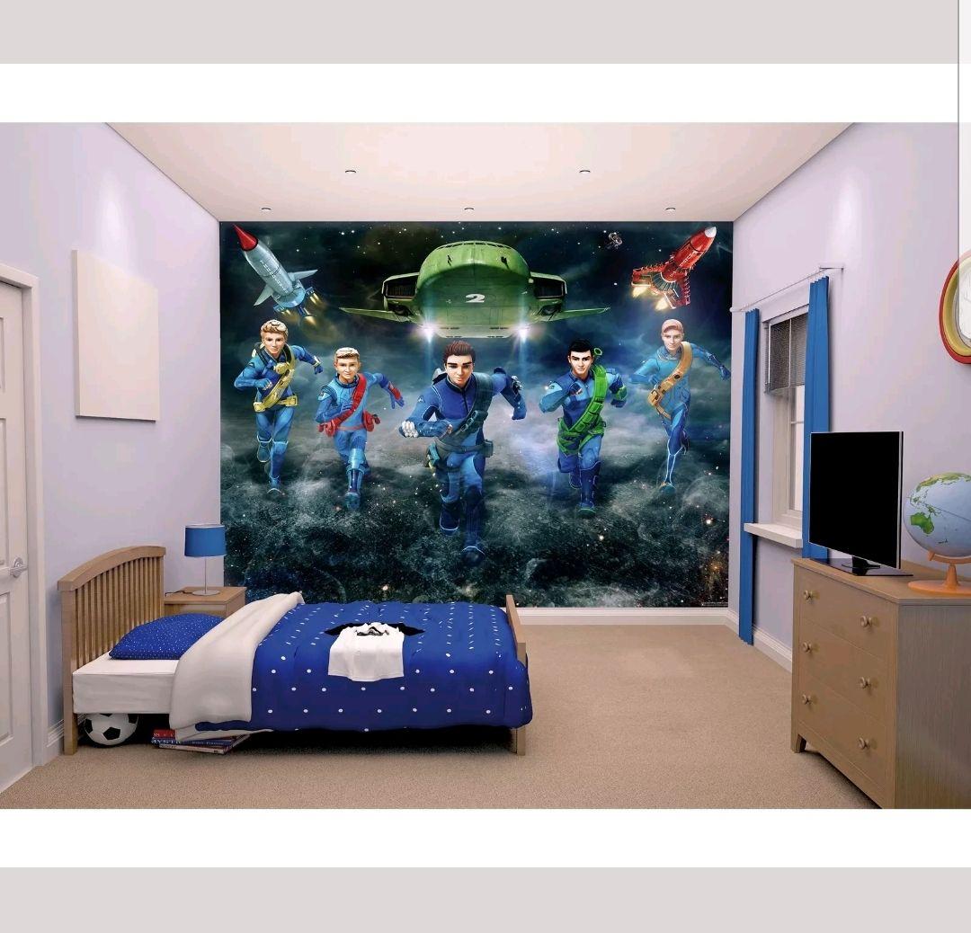 Walltastic Thunderbirds Are Go Wallpaper Mural. @Argos EBay £7.99 Free delivery