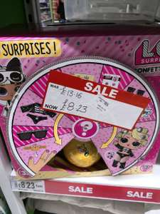 LOL Surprise Confetti Pop doll reduced in local store to £8.23 @ Asda