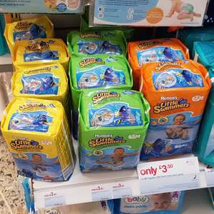 Huggies Little Swimmers Swim Nappies all sizes £3.50 @ Boots online & instore