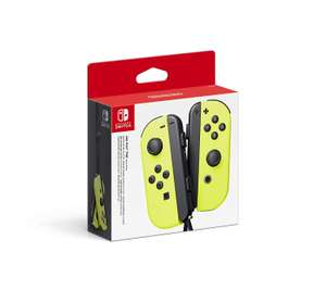 Nintendo Switch Joy-Con Controller Pair - Neon Yellow £54:99 @ Amazon (delivery after Christmas)