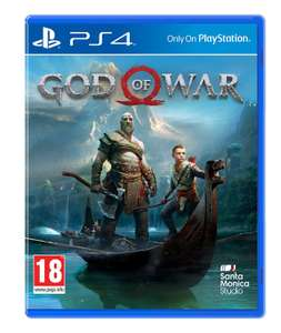 God of War (PS4) £20.99 Free delivery @ Amazon