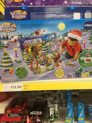 Toot toot friends advent calendar Tesco (Orpington) £12.50
