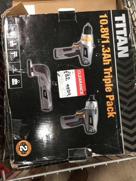 Titan power tools £82 @ B&Q Reading