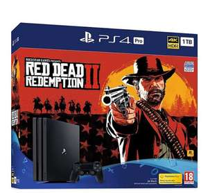 PlayStation 4 Pro Red Dead Redemption 2 1Tb Console Bundle - £314.99 @ Tesco