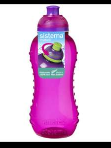 Sistema 460ml  water bottle pink in-store - 50p @ Asda Hollingbury ( may be store specific)