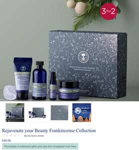 Neal's Yard Remedies Glitch - 2 for 1 instead of 3 for 2 - Free Delivery on orders over £40 (or +£4.95)