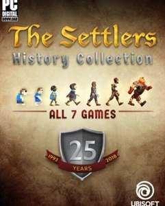 The Settlers History Collection. 50% off with another 20% if you use Uplay points. £13.60