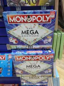 Monopoly Mega, Friends, Christmas & Local Editions (and More Variations) - £20.00 Each (Was £29.99) In-store @ The Works (intu Derby Store)