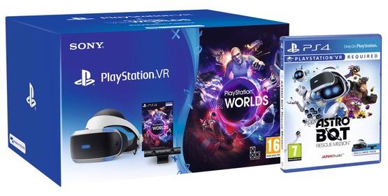 Sony PlayStation PSVR V2 + Camera + VR worlds + Astro Bot Bundle £179.86 @Shopto