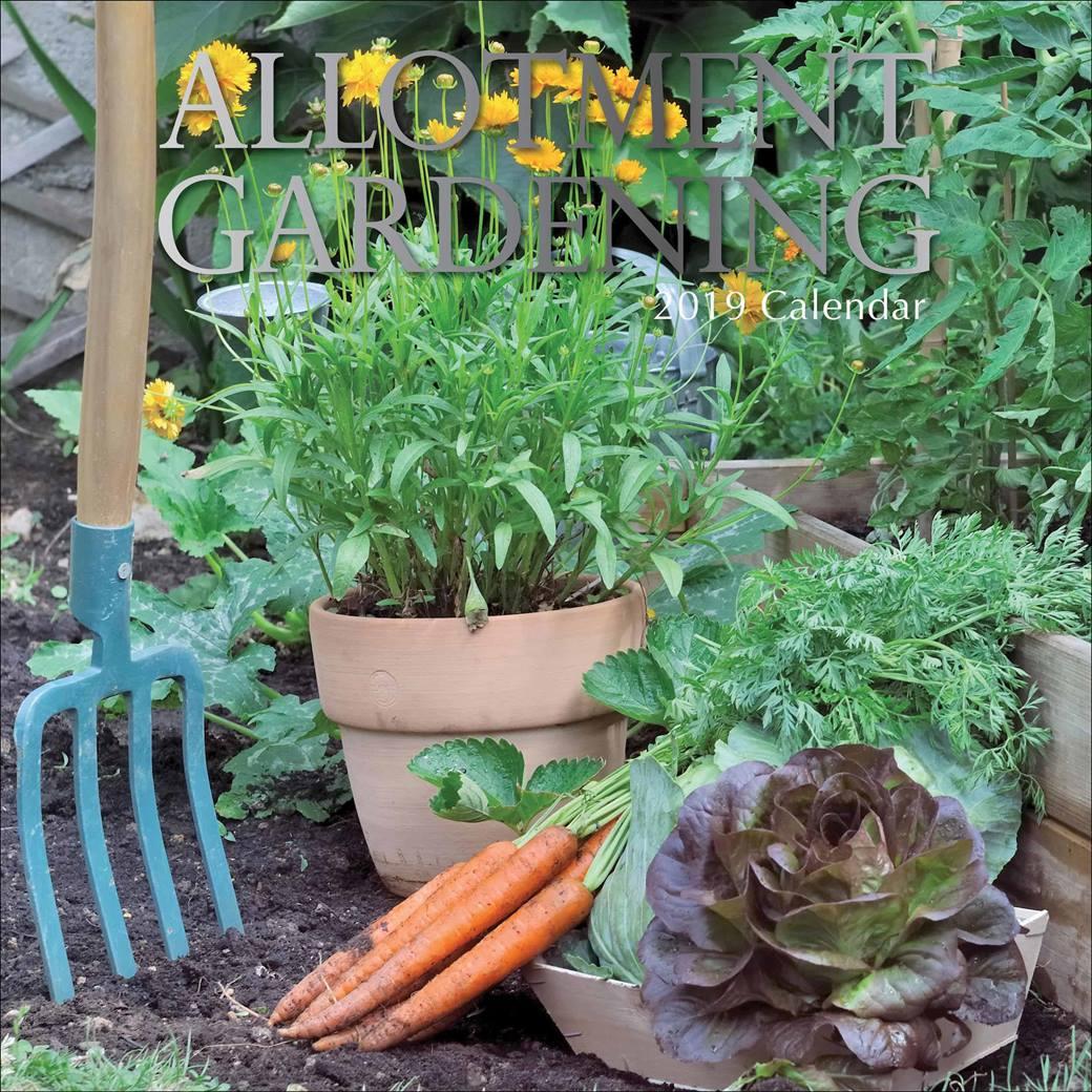 Allotment Gardening Calendar 2019 £9.99 @ Gardening Club