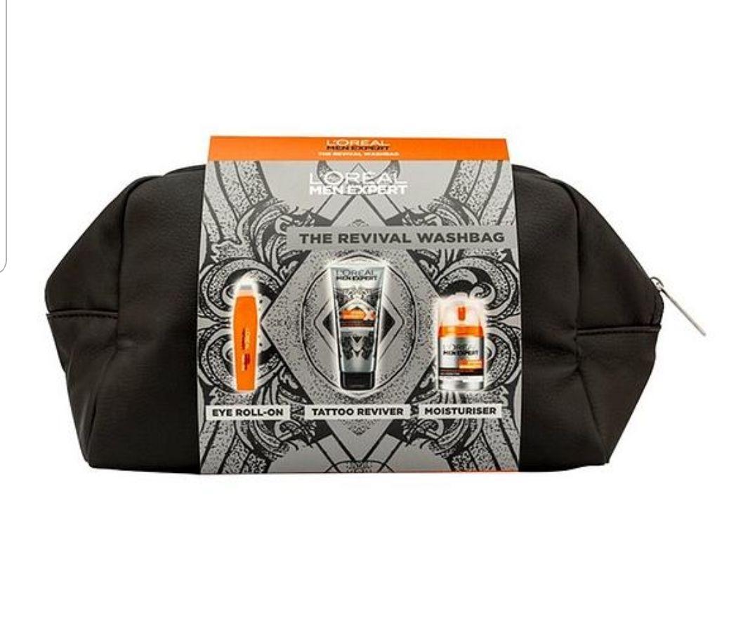 L'Oreal Men Expert Washbag Gift Set £8.99 @ Very
