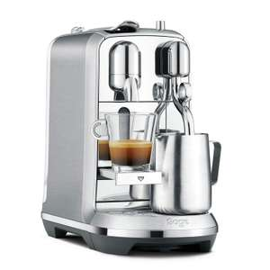 Nespresso Creatista Plus Coffee Machine, Silver by Sage £269 Amazon