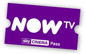 Now TV – 12 Month Cinema Pass £55 / 12 Month Entertainment Pass £45