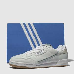 Adidas Grey Continental 80 Trainers £44.99 @ Schuh Free Next Day Delivery