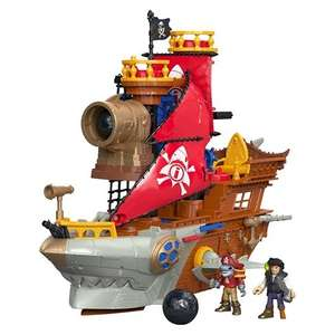 Fisher price imaginext shark bite pirate ship, £19.49 Argos