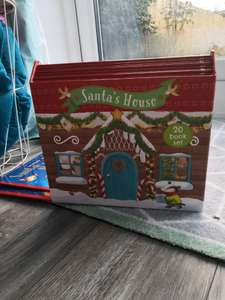 Santa's house 20 book set, voucher stack to get £15.99 plus free delivery @ Book People